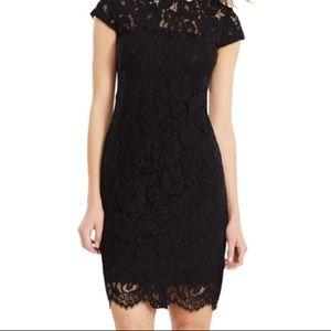Lauren Ralph Lauren lace cap sleeve dress